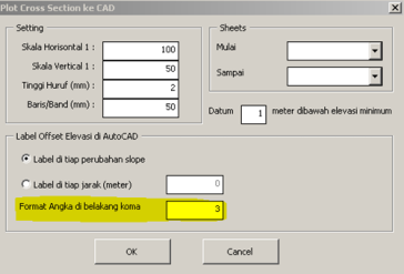 XLS-SVY-13]: Plotting Cross Section dari Excel ke AutoCAD Versi 1 1